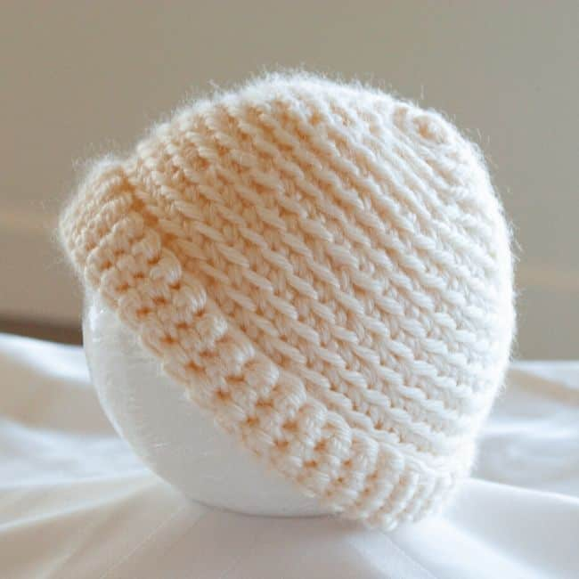 Spiral Baby Hat by Crafting Each Day