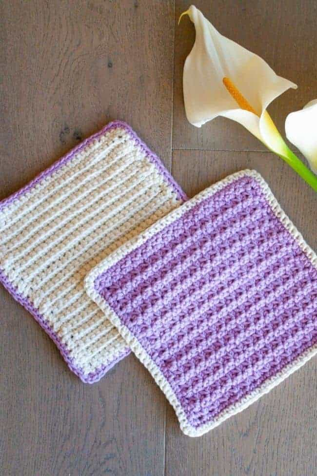 Stashbusting Washcloths by Crafting Each Day